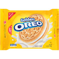 nabisco golden oreo sandwich cookies 14 3 oz walmart com