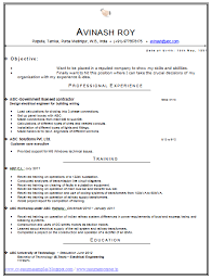 technical resume format technical resume format resume sle