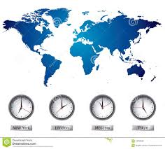 World Map Time Zone by World Map With Time Zones Royalty Free Stock Image Image 13096586