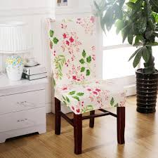 removable elastic stretch slipcovers short dining room chair seat
