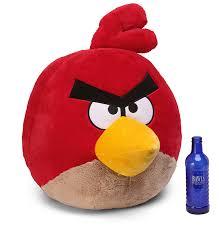 jumbo angry birds plush thinkgeek