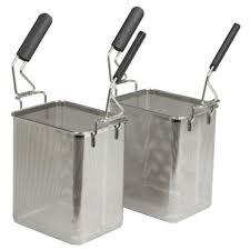 Pasta Basket 2 X Baskets To Suit Electrolux 700xp Series Pasta Cooker