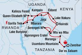 Map Of Tanzania Africa by Tanzania Tours U0026 Travel Intrepid Travel Us