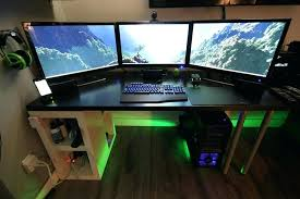 ordinateur de bureau pour gamer bureau informatique gamer meuble bureau pour pc gamer civilware co