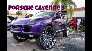 Porsche Cayenne Wheels - porsche cayenne on 32 inch rucci forged wheels in hd must see