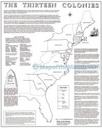 the thirteen colonies map usa maps archives maps for the classroom