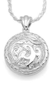 round sterling silver necklace images Phoenix round sterling cremation jewelry pendant necklace for ashes jpg