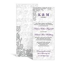 tea length wedding programs wedding tea length programs 3 625 x 8 875 customizable wedding