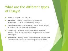 essay writing a quick overview english language arts ppt download