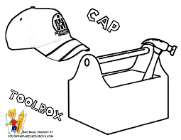 tool box coloring page high quality coloring pages coloring home