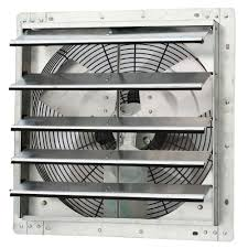 shutter exhaust fan 24 iliving 1750 cfm power 18 in variable speed shutter exhaust fan