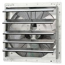 home depot exhaust fan iliving 1750 cfm power 18 in variable speed shutter exhaust fan