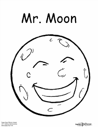 moon coloring pages newcoloring123