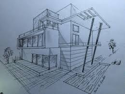 3d Home Architect Design 6 by Drawn House Modern Architectural Design Pencil And In Color