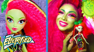 venus mcflytrap makeup tutorial monster high youtube