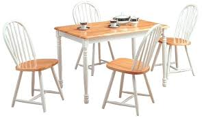 butcher block table and chairs white kitchen table set natural white butcher block table w 4