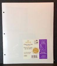 sticky photo album pages hallmark refill pages ebay