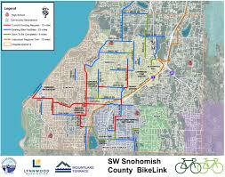 Seattle Bus Route Map by Verdant Health Commission To Fund Snohomish Bike Route Connections