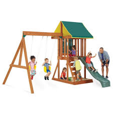 big backyard appleton wood swing set toys