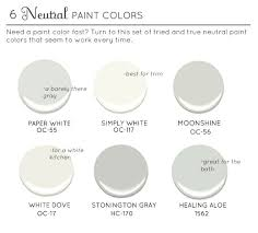 best neutral paint colors the estate of things