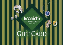 gift cards for women gift card kranichs jewelers