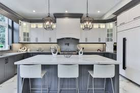 grey kitchen countertops with white cabinets white quartz countertops ideas tips for choosing the best