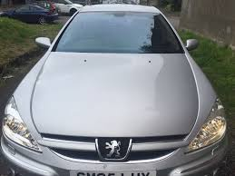 peugeot automatic used cars peugeot 607 2005 for 1 395 00 uk cheap used cars