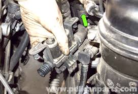 bmw e60 5 series heater valve testing and replacement pelican