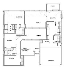 dr horton single story floor plans the dogwood avery park 60 u0027s new braunfels texas d r horton