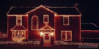 led christmas lights in houses u2013 happy holidays