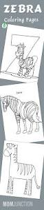 zebra coloring pages stripes coloringstar