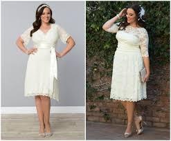 stylish wedding dresses for curvy brides vintage weddings lace - Plus Size Courthouse Wedding Dress