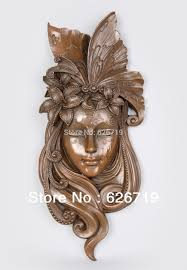 wall masks aliexpress buy 100 handmade classical bronze relief