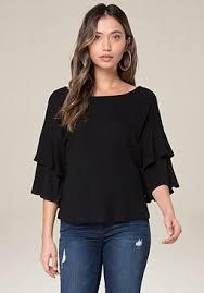 Black Blouses For Work Blouses For Women White Black Silk Bebe