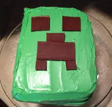 easy minecraft birthday cake u0026 party ideas