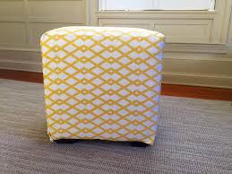 Upholstering An Ottoman Easy Diy Project Upholstered Ottoman Lorri Dyner Design