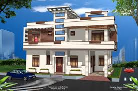 indian home design plan layout new home designs latest modern homes front views terrace india