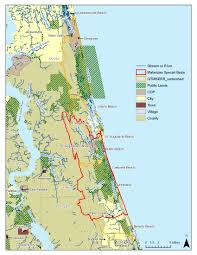 St Augustine Florida Map by Matanzas Basin Planning For Sea Level Rise In The Matanzas Basin