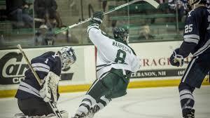 bentley college hockey daniel warpecha named ecac hockey player of the week big green