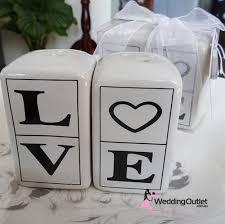 salt and pepper wedding favors salt and pepper shakers wedding favours weddingoutlet au