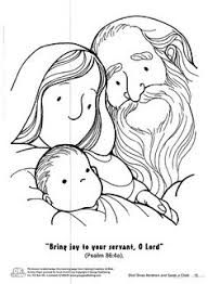 Coloring Page Abraham And Sarah | coloring abraham and sarah with baby isaac kids korner