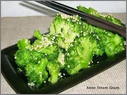 comment cuisiner le brocolis brocoli sauté à la sauce soja et au sésame stram gram