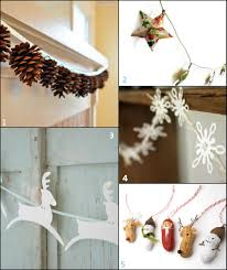 Christmas Decorating Ideas For The Kitchen Paper And Fabric Garland Ideas For The Holidays Handmadeology