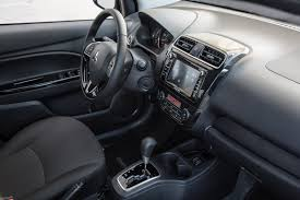 mitsubishi mirage 2015 interior 2017 mitsubishi mirage g4 subcompact sedan launched in new york