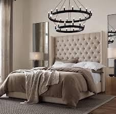 Tufted Platform Bed with Adler Shelter Diamond Tufted Fabric Platform Bed