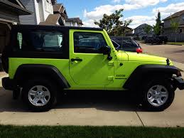 green jeep liberty 2012 first hyper green jeep wrangler forum