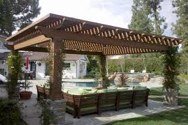 Patio Gazebo Plans by Decorating Alluring Patio Roof Designs With Gorgeous Lates Home