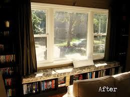 Ikea Window Seat Hack Decorating Enchanting Ikea Window Treatments With White Sideboard