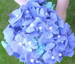Hydrangea Wedding Felt Hydrangea Bridal Bouquet Tutorial American Felt U0026 Craft Blog
