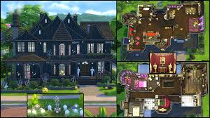 home design modern house floor plans sims 4 victorian large